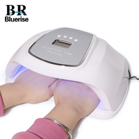 UV LED Lamp Manicure for Gel Polish Dryer All for Nail Extension Quick Drying Hands and Feet High Power Hybrid Nail Lamp 72W