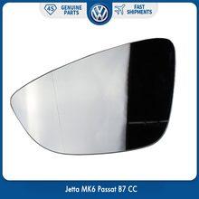Левое боковое крыло с подогревом Электрический с держателем зеркало стекло для VW Volkswagen Eos Jetta MK6 Scirocco Passat B7 CC 3C8 857 521