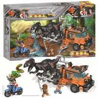 Legoing Jurassic Welt Dinosaurier Tyrannosaurus Rex Velociraptor Triceratops Set Blöcke Spielzeug Für Kinder Legoings Jurassic Park