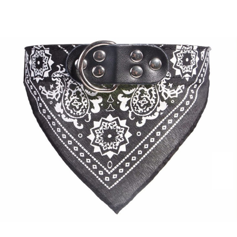 New Printed Pet Dog Scarf Collar Adjustable Triangular Puppy Cat Tie Collar Neck Strap For Small Medium Dogs Cats Pet Supplies