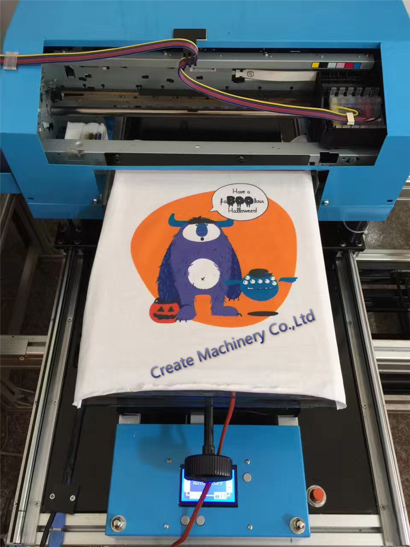 2017 new generation t shirt printer digital printing for Computerized t shirt printing machine