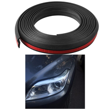 4Meter Z type 3M adhesive car rubber seal Sound Insulation car door sealing strip weatherstrip edge trim noise insulation cawanerl for lancia musa delta car trunk hood 4 door rubber seal edge trim auto sealing seal strip kit weatherstrip
