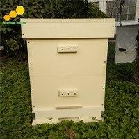 2 uds. De colmena de abejas de dos niveles, nuevo Material, equipo de apicultura, BH-9 de colmena de Langstroth de plástico