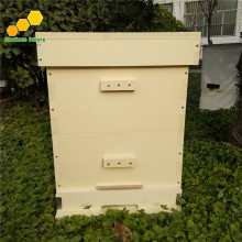 2Pcs Bee Hive Two Levels New Material Beekeeping Equipment Plastic Langstroth Beehive BH-9