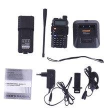 Baofeng UV-5R 3800 Walkie Talkie 5W Dual Band Radio UHF 400-520MHz VHF 136-174MHz UV 5R Two Way Radio portable Walkie EU/US 1Pcs