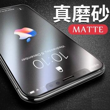 e0fa921b9a0 9 H 2.5D cubierta completa Anti Rayo Azul luz mate vidrio templado para  iPhone X. Protectores de pantalla ...
