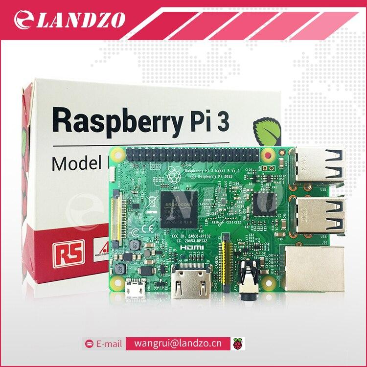 LANDZO RS Version Original Raspberry Pi 3 Model B 1GB LPDDR2 BCM2837 Quad Core Ras PI3