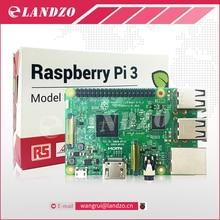 RS Версия сделано в Великобритании: Оригинальный Raspberry Pi 3 модели B 1 ГБ LPDDR2 BCM2837 quad-core RAS PI3 B, PI 3B, PI 3 b с Wi-Fi и Bluetooth