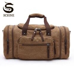 2018  Большая емкости    Для мужчин путешествий     Спортивные холстиные  многофункциональные  дорожные сумки  Сумки  на плечо
