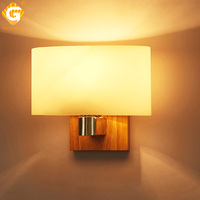 Indoor Lighting LED Sconces Wall Lamp Modern Nordic Dining Room Study Lights Wood Wall Mounted Lamp Decorative E27 LED Bulbs