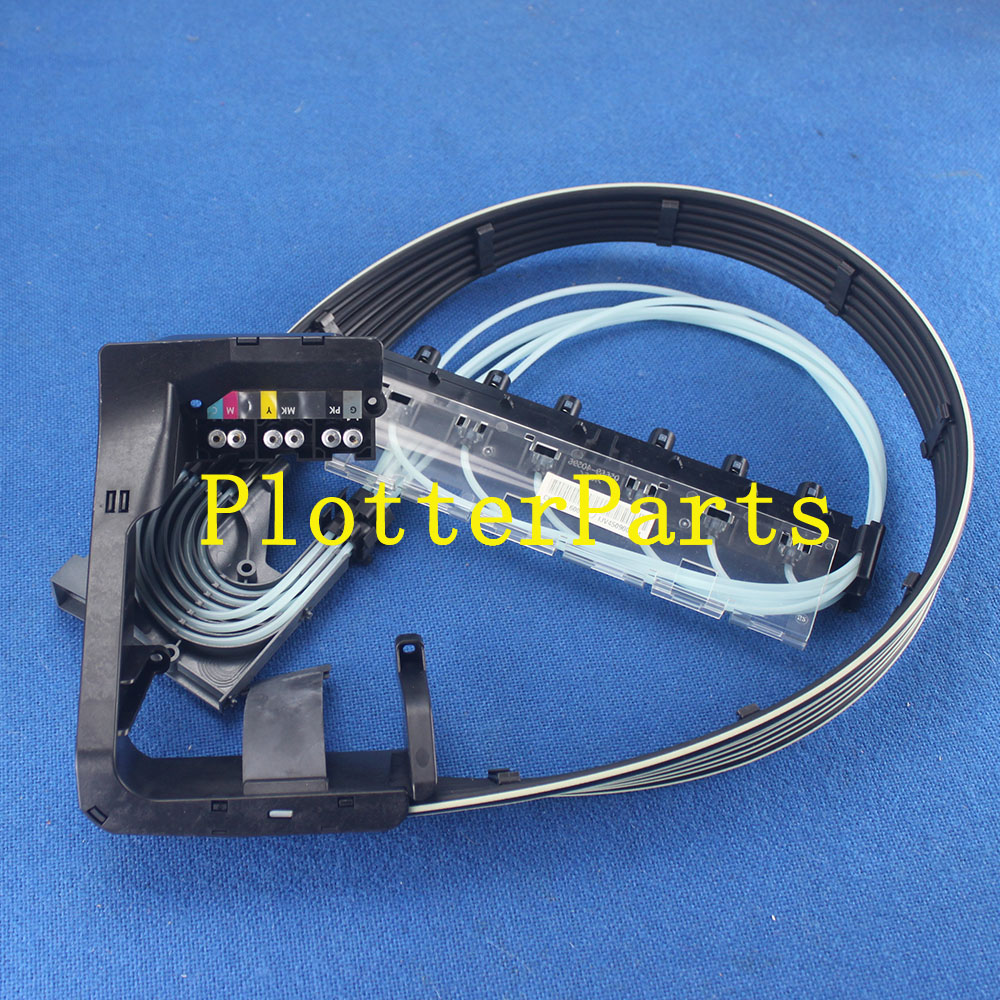 CR649-67004 CH538-67025 CK839-67003 tube system B0 for HP DesignJet T620 T770 T790 T1120 T1200 T1300 T2300 original new carriage pca board uesd for hp t770 t790 t795 t1200 t620 t2300 t1300 t1200ps t1120 t1120ps t1300 t2300 ck837 67005 ch538 60004