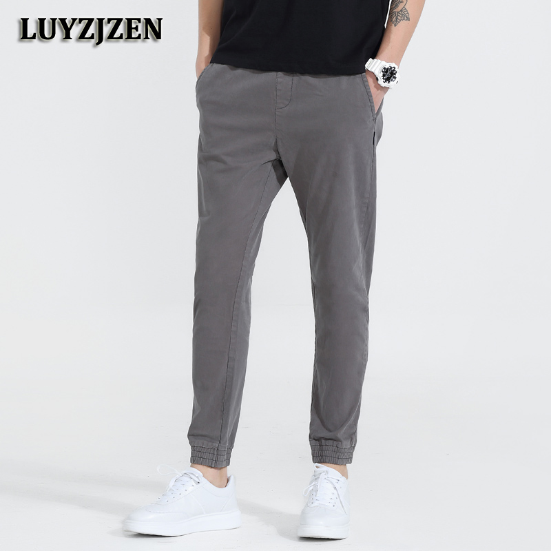New Brand Pants Men Work Wear Mens Track Pants Casual Fashion 2018 Male Long Trousers New Fashion Quick Dry High Quality K31