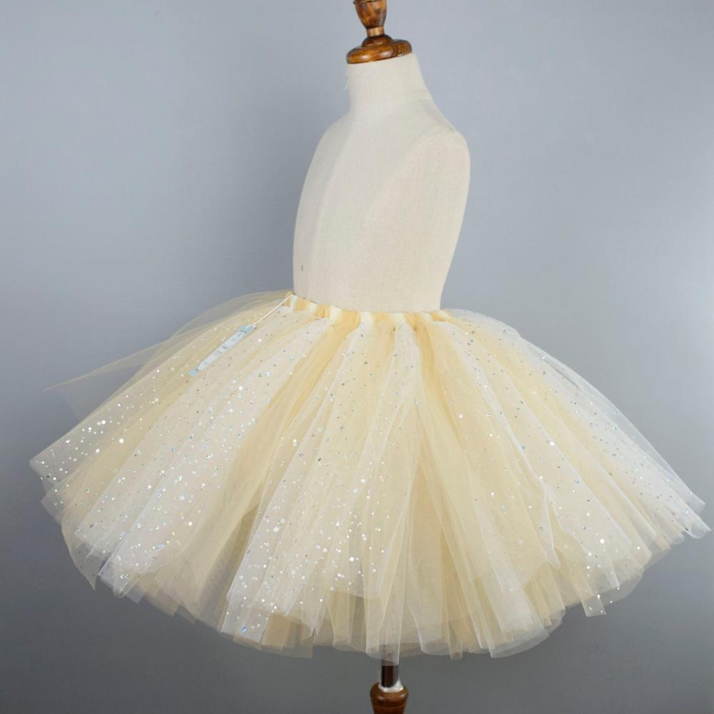 Girl/'s Sequins Tutu Skirt Princess Ballet Dance Birthday Tutus Dress