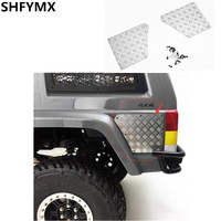 RC Car Shell Metal Scratchproof Plates Assembly For 1/10 RC Crawler CAR AXIAL SCX10 ii JEEP XJ 90046 47 CHEROKEE Toys Truck