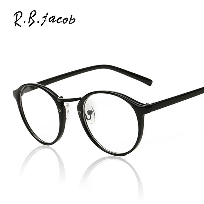 Vintage Glasses Frame Brand Designer Men Women Woman Optics Classic Eyeglasses Frames Clear Transparent Lens