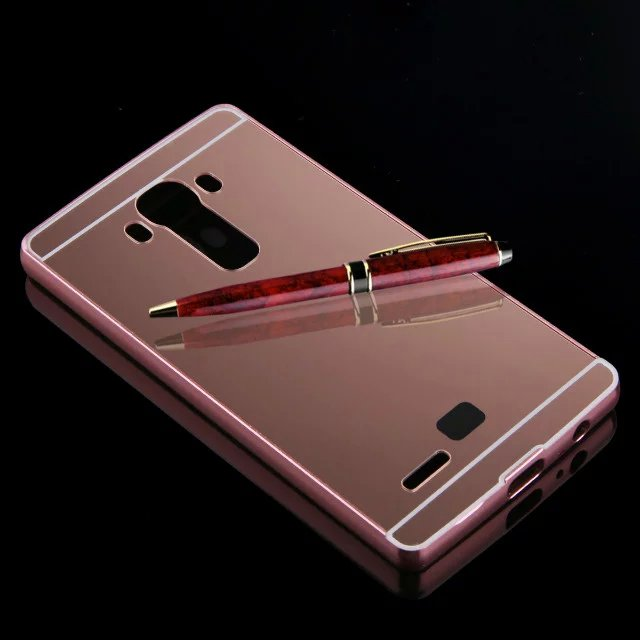 quality design e9ed6 00426 US $6.69 |Fashion Case for LG G4 Aluminum Bumper Luxury Metal Frame+Mirror  Acrylic Back Cover Case for LG G4 on Aliexpress.com | Alibaba Group