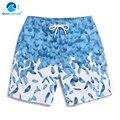 Cubierta de la onda pantalones de playa parejas hombres y mujeres de secado rápido gran código sueltos pantalones de la playa de vacaciones de ocio de cinco minutos de pantalones pantalones