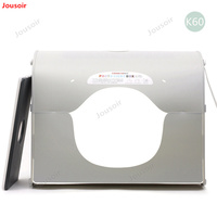 SANOTO Softbox k60 for 220/110V LED photo studio Professional Portable Mini Kit Photo Photography Studio Light Box CD50 T03