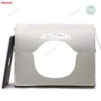 SANOTO Softbox k60 for 220/110V LED photo studio Professional Portable Mini Kit Photo Photography Studio Light Box CD50 T03 P