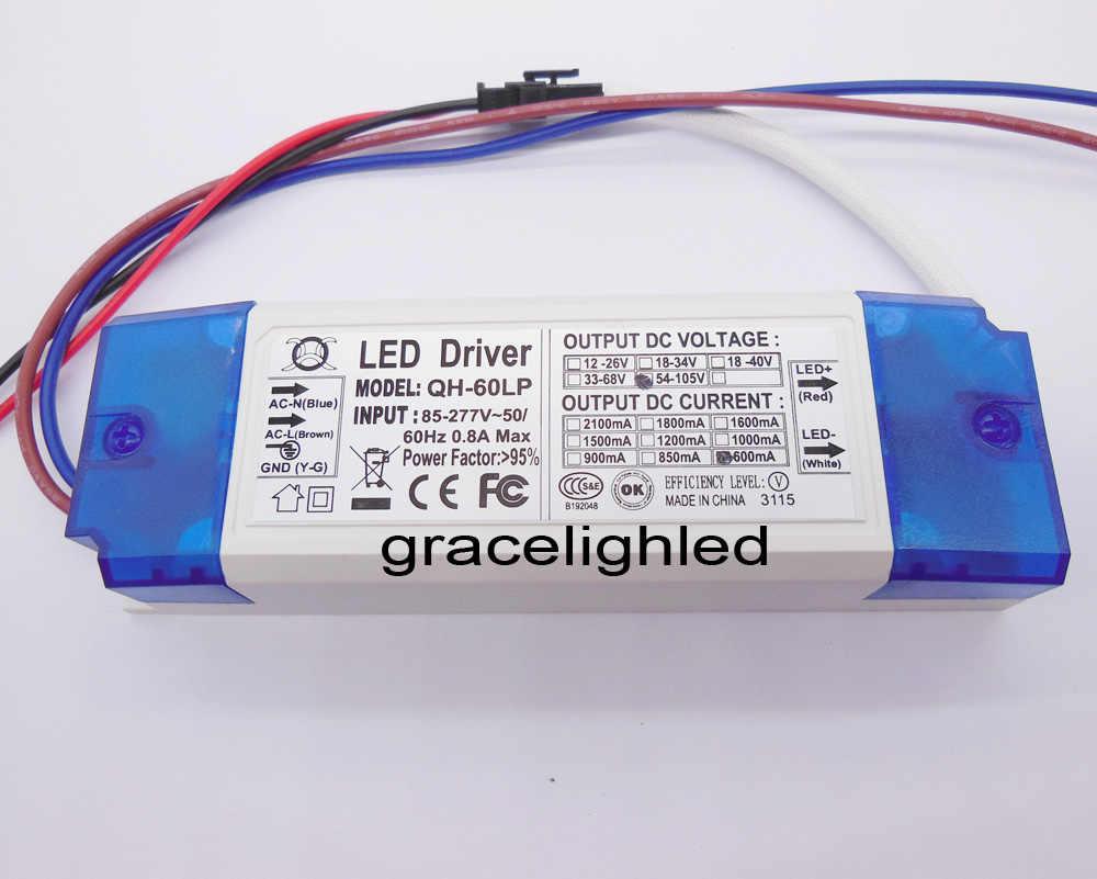 2pcs 10-20x3W LED Driver Power Supply 900mA F CREE XML XPE XTE T6 U2 L2 10W LED