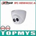 6 шт./лот 4MP DaHua POE Ip-камера IPC-HDW4431C-A День Ночь ик 1080 P CCTV камеры IP67 Водонепроницаемый HD Домашней безопасности ip Камеры