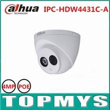 6pcs/lot DaHua 4MP POE IP Camera IPC-HDW4431C-A Day Night infrared 1080P CCTV camera IP67 Waterproof HD Home security ip Camera