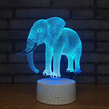 Wonder3d Night Light Stereo Vision Children Desk Induction 3d Lamp Creative Product Wholesale Usb Led Light Fixtures