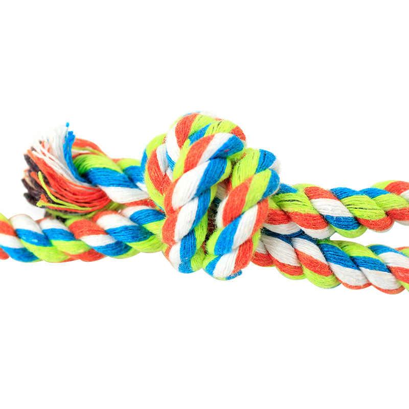 30 см длинные хлопчатобумажной веревки собака игрушка ручной цепи мяч зуб Тематические товары про рептилий и земноводных собака щенок обучение игрушка