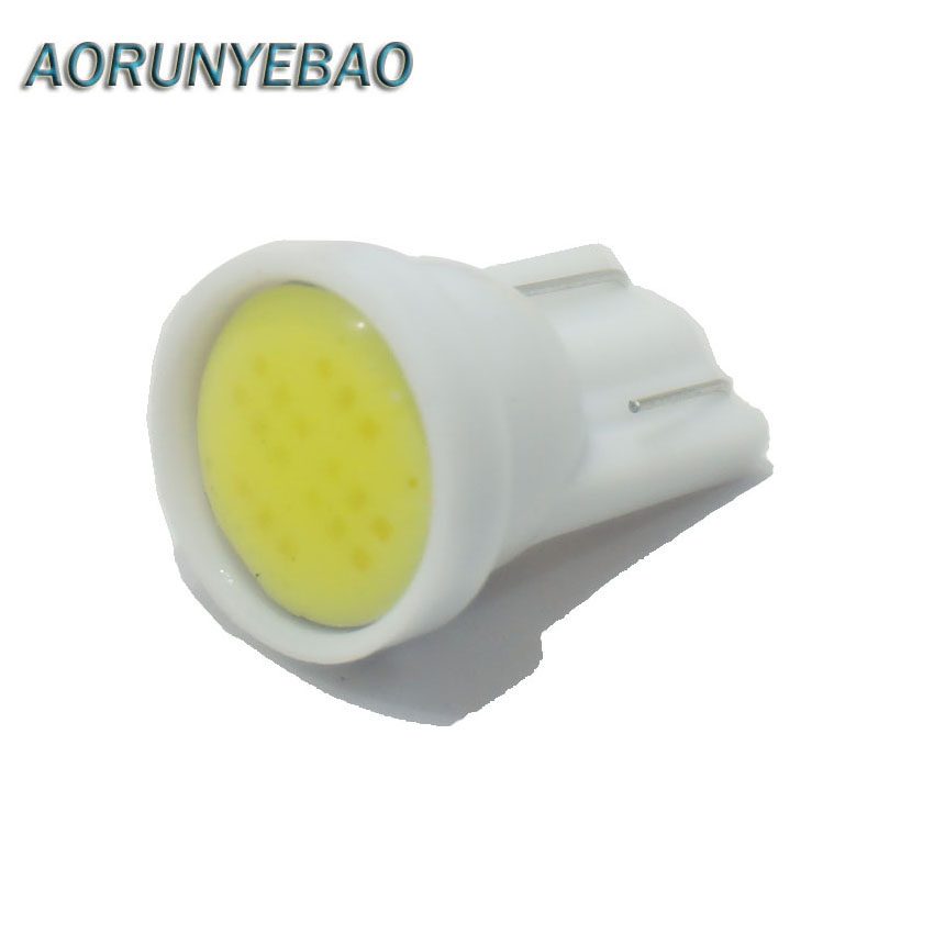 AORUNYEBAO 20x T10 W5W 194 Wedge LED Light Bulb Car Dashboard Instrument Cluster Bulb Speedometer Odometer Dash Gauges Lighting