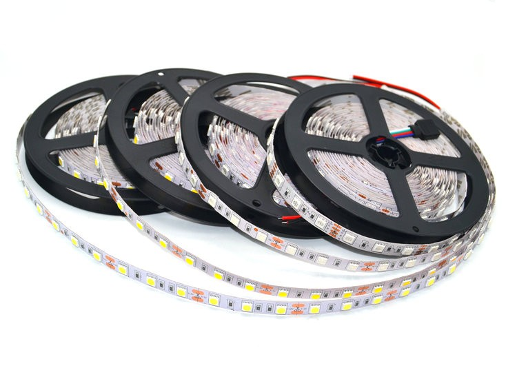 LED Strip 5050/2835/5730 Lights 12V Flexible Home Decoration Lighting  LED Tape RGB/White/Warm White/Blue/Red 1M/2M/3M/4M/5M