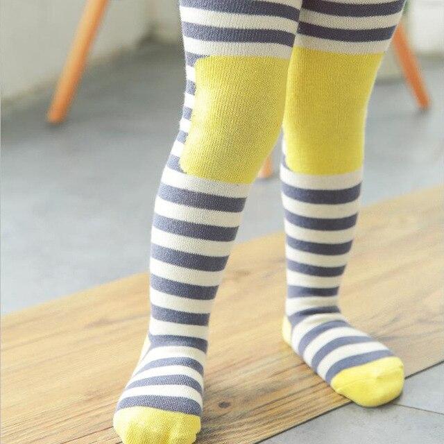 Printemps bande bébé Serré Coton Collants pour Filles garçons Collants  Tricoté conception pour Enfants Infantile couches 14dc32b31f8