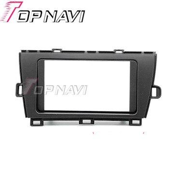 Topnavi 2 toyota prius 2010 autostereo 인터페이스 대시 cd 트림 설치 키트 용 din quality car radio fascia