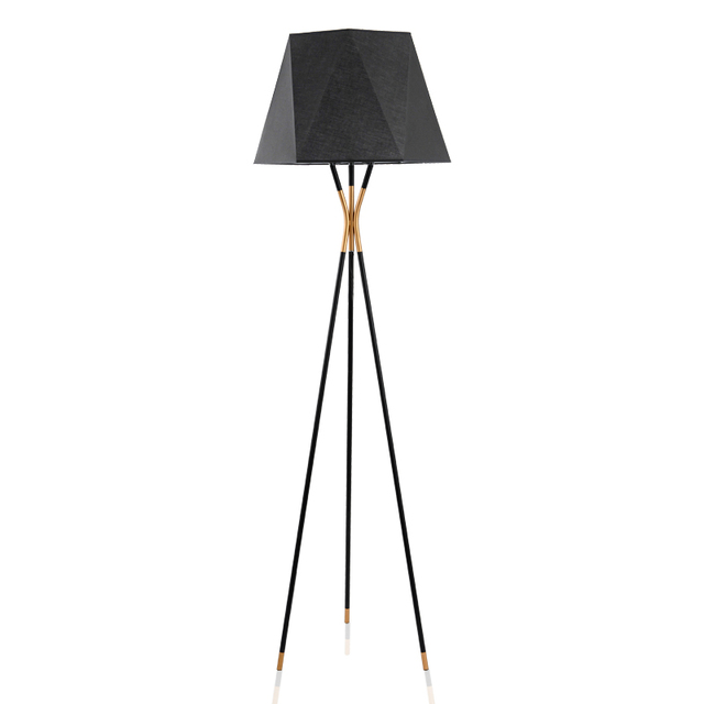 Modern Minimalist Floor Lamp Standing Lamps Black Toolery For Living