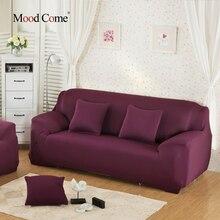 Solid Stretch Slipcover tres todo incluido cubierta de la toalla cojín del sofá sofá de cuero genérico universal custom summer cubierta completa