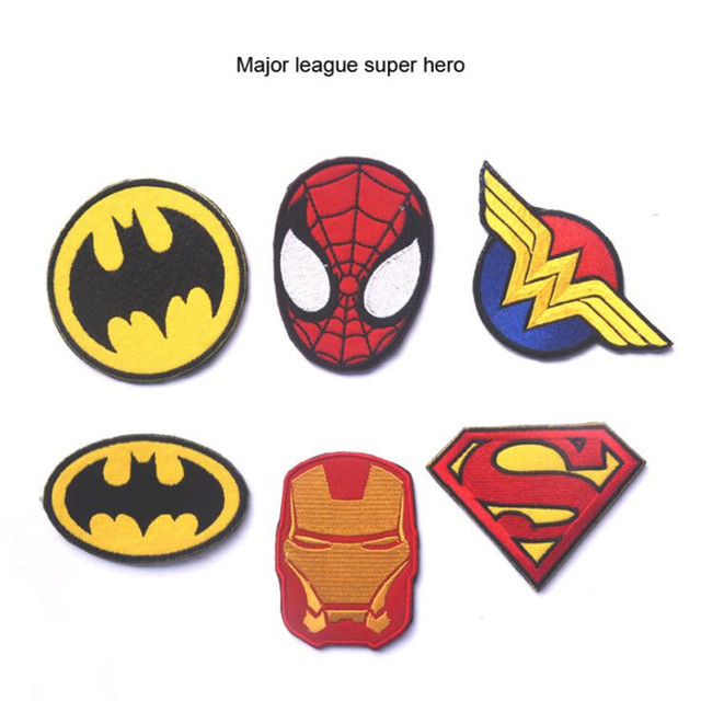 Нашивки героев Марвел и DS Comics 2