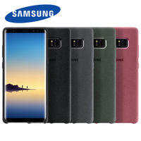 Original Official Samsung Alcantara Cover For Galaxy Note 8 SM N950F Suede All Inclusive Anti Fall