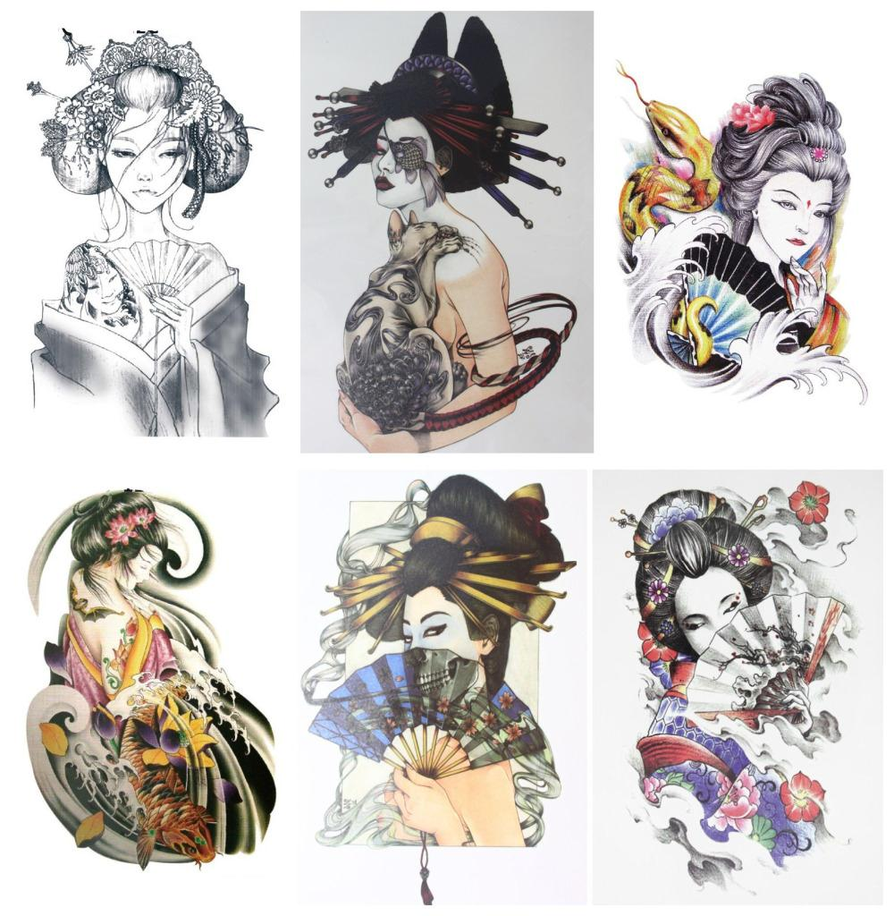 Various Tattoo Designs For Your Body: Aliexpress.com : Buy 6pcs/set Waterproof Temporary Various