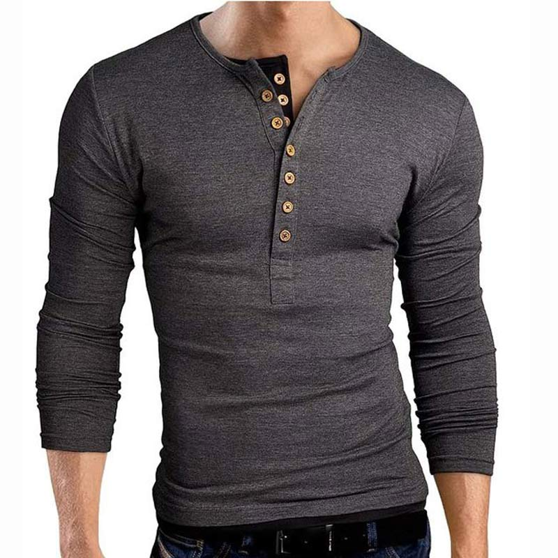 Popular Henley Shirt-Buy Cheap Henley Shirt lots from China Henley ...