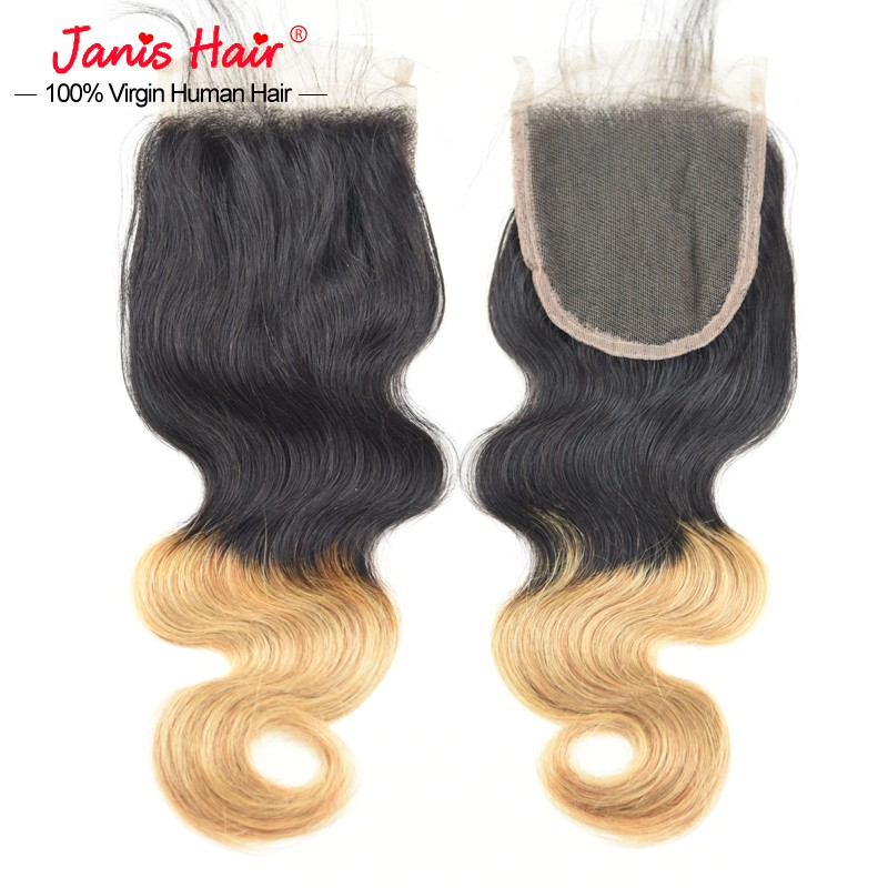7a Ombre Armenian Virgin Hair With Closure Honey Blonde Armenian