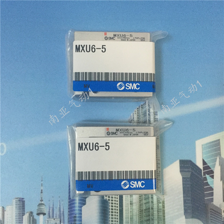 ФОТО SMC MXU10-5 Sliding cylinder air cylinder pneumatic component air tools  MXQ series