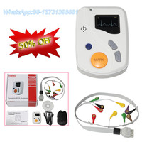 CONTEC TLC6000 Dynamic 48 hours 12 Lead ECG/EKG Holter Monitor Alalyzer Software ECG Holter