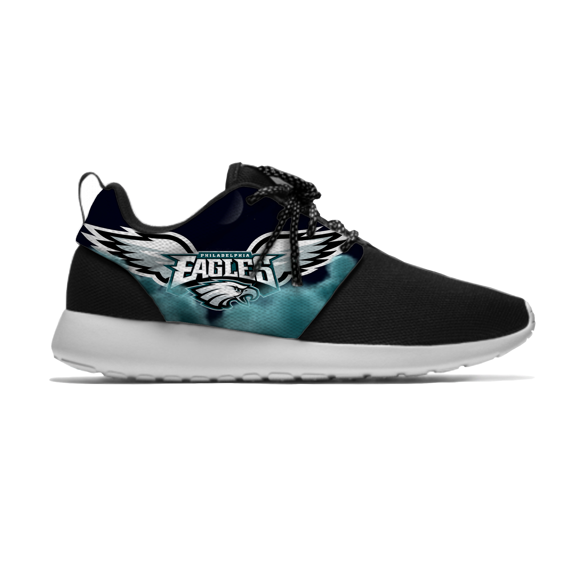 Eagles Lightweight Men's/Women's Philadelphia Running Shoes Football Sport Meshy Shoes Casual  Breathable Sneakers