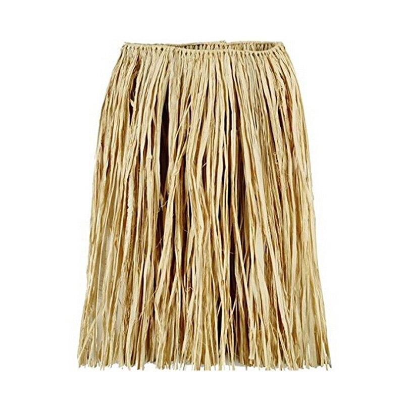 1 PC צבע טבעי דשא לאפיט תלבושות הוואי חצאית הולה חצאיות ילדים להתלבש ספקי חגיגיים & מפלגה