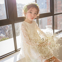 2018 Spring Summer Evening Dress School Girls Cotton Lace Crochet Frocks Design For Teens Age 5 6 7 8 9 10 11 12T Years Old