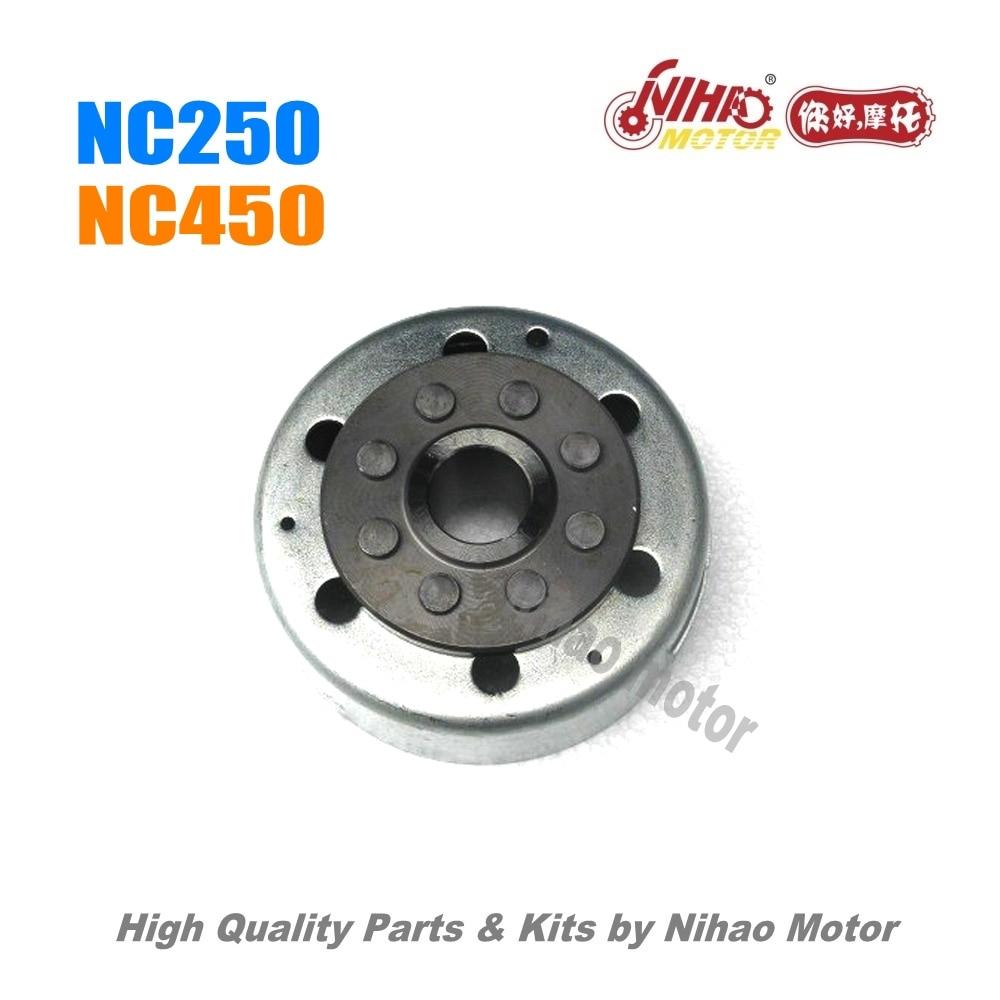 25 NC250 NC450 pièces magnétor rotor ZONGSHEN moteur NC RX3 ZS177MM (moteur Nihao) KAYO Motoland esb Megelli Asiawing Xmoto