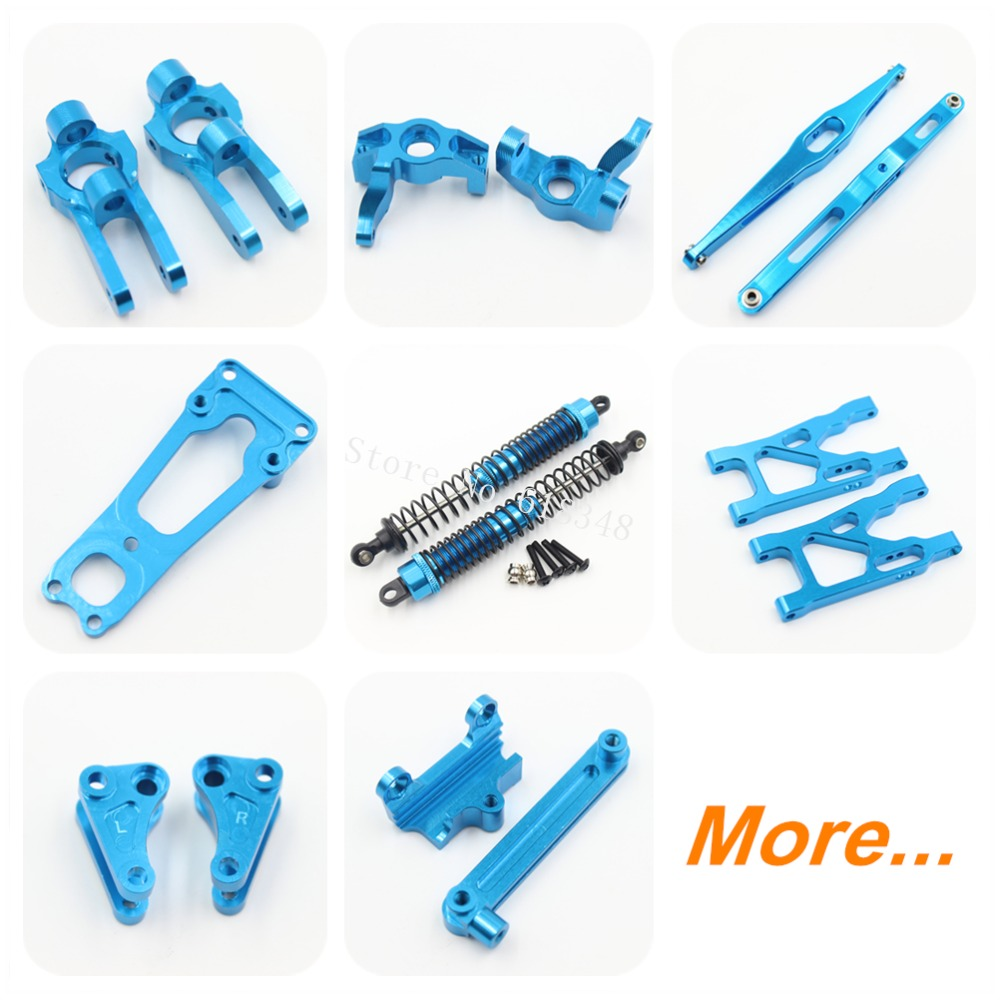 For Vaterra Twin Hammers Option Parts Upgrade Aluminum Metal RC 1/10th Electric 4WD Crawler Rock Racer Truck RTR Kit Replacement