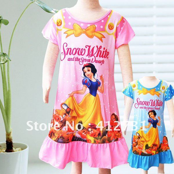 Snow white night dress.