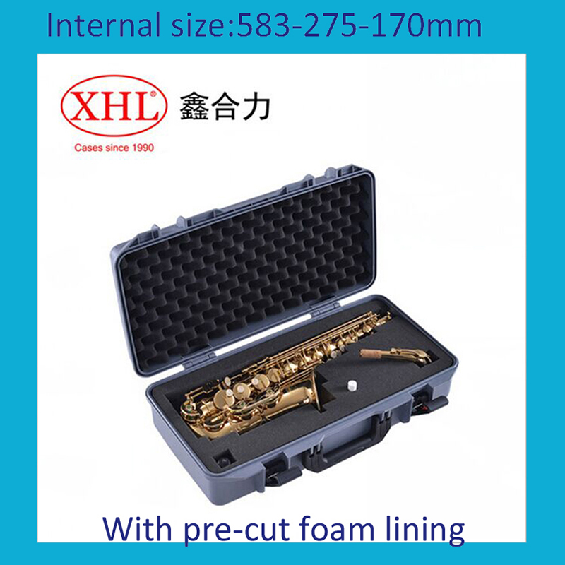 Tool Case Toolbox Impact Resistant Sealed Waterproof Protective Case 330*234*152mm Security Tool Equipment  With Pre-cut Foam