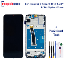 Original LCD 6.2 for Huawei P Smart 2019 LCD Display with Frame Digitizer Assembly Touch Screen Touch Screen P Smart 2019 for huawei p smart 2019 lcd display touch screen digitizer assembly pepair parts p smart 2019 display with frame replacement