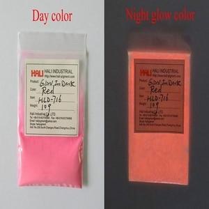Image 3 - Luminous powder,photoluminescent pigment,fluorescent pigment,glow in dark pigment,1lot=10colors,10gram per color,free shipping.